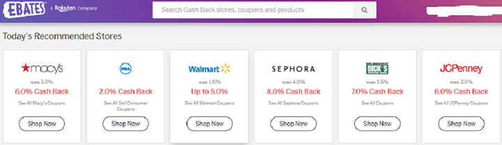 Cash Back Shopping Apps