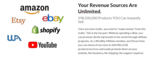 Wealthy Affiliate will help you find affiliate programs