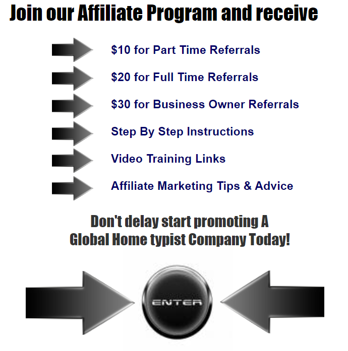 Type At Home Affiliate Program